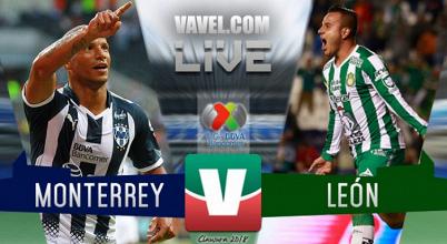 Goles y resultado del partido Monterrey vs León en Liga MX 2018 (5-1)