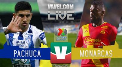 Resultados y goles Pachuca vs Monarcas Morelia en Liga MX 2018 (2-3)