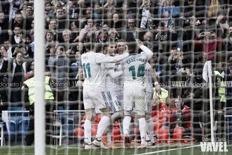 El Real Madrid, líder anotador