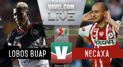 Resultado y gol del partido Lobos BUAP 0-1 Necaxa en Liga MX 2018