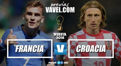 Russia 2018 - Atto finale: Francia e Croazia si sfidano per un posto nell'Olimpo del calcio