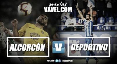 Previa AD Alcorcón - RC Deportivo: test de altura en Santo Domingo
