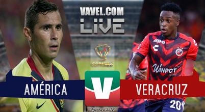 Partido y goles del América vs Veracruz en Copa MX 2018 (3-0)