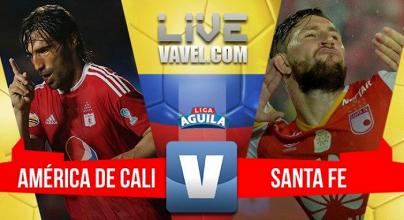 Con un gol, Independiente Santa Fe se trae los tres puntos de Cali
