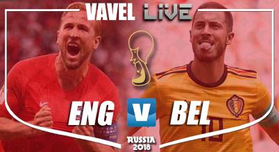 La Belgique domine l'Angleterre et jouera face au Japon en 8e