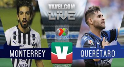 Resultado y goles del Monterrey 2-1 Querétaro en Liga MX 2018