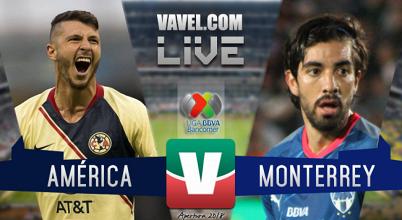 Resultado y goles del América 3-0 Monterrey en Liga MX 2018
