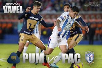 Previa Pumas - Pachuca: por el paso perfecto en liga