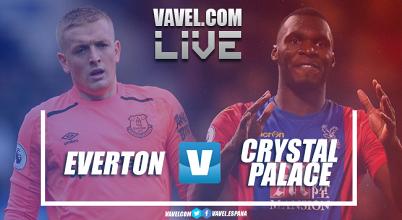Everton y Crystal Palace se miden en una nueva jornada de la Premier League. | Montaje: Dani Souto (VAVEL)