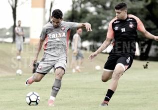 Com equipe alternativa, Atlético-PR continua preparação para Atletiba