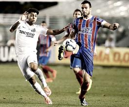 Invictos nos últimos cinco jogos, Santos e Bahia duelam no Pacaembu
