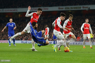 Arsenal 3-0 Chelsea: As it happened