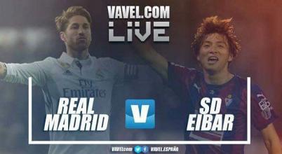 Real Madrid vs Eibar en vivo y en directo online en La Liga Santander 2017