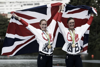 Rio 2016: Helen Glover and Heather Stanning retain their gold in Women's Pair