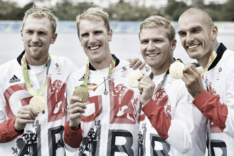 Rio 2016: Great Britain takes home gold in the Men's coxless four