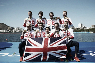 Rio 2016: Great Britain wins gold in Men's Coxed Eight