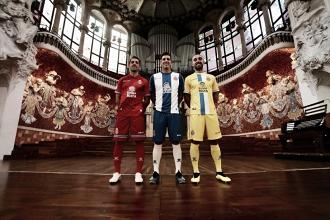 Kelme devuelve la esencia a las camisetas del Espanyol