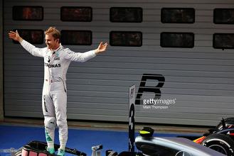 Formula 1: E vão três em três para Nico Rosberg!