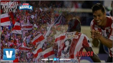 Guía VAVEL 'Playoffs' Liga Águila 2017-II: Junior de Barranquilla