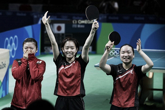 Rio 2016: Japan comes from behind to capture the bronze in women's table tennis team event