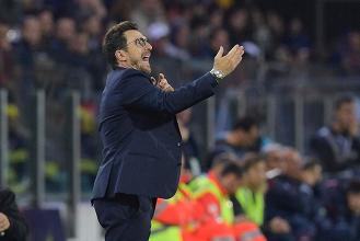 """Cagliari-Roma, Di Francesco: """"Siamo cresciuti sotto ogni punto di vista come squadra"""""""