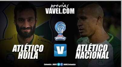 Previa Atlético Huila Vs Atlético Nacional: Los 'verdolagas' buscarán su paso a cuartos de final