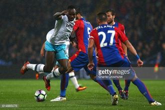 West Ham United 3-0 Crystal Palace: As it happened