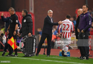 Stoke City manager Mark Hughes happy to have selection dilemma ahead of Burnley fixture