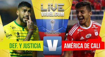 Con gol de Martínez Borja, América vence a Defensa y Justicia