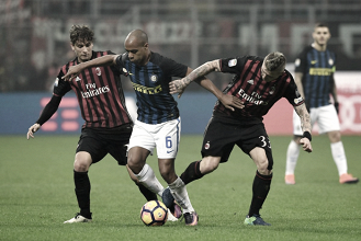 Resumen Inter de Milán vs AC Milan en Serie A 2017 (2-2)