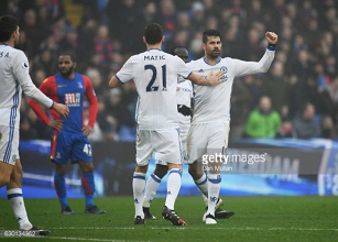 Crystal Palace 0-1 Chelsea: Diego Costa header extends Blues' lead at the top