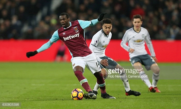 Pedro Obiang welcomes pressure of Kouyate's departure ahead of Manchester City clash