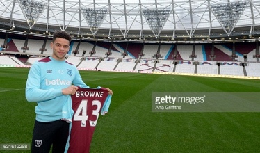 Marcus Browne signs new three-and-a-half deal with West Ham United
