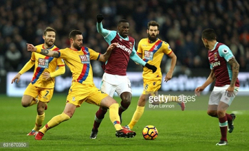 West Ham 3-0 Crystal Palace: Hammers second half show seals points
