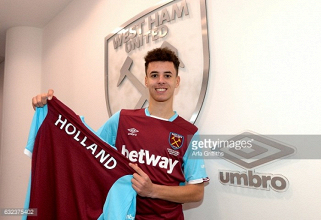 West Ham United sign Nathan Holland on a three-and-a-half-year deal