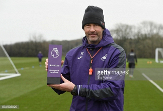Swansea City boss Paul Clement named January Manager of the Month