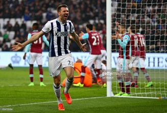 West Ham United 2-2 West Bromwich Albion: McAuley stoppage-time header denies Hammers three points