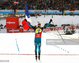 Martin Fourcade cruises to Pursuit gold at Biathlon World Championships
