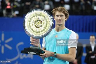ATP Montpellier: Alexander Zverev wins title over Richard Gasquet