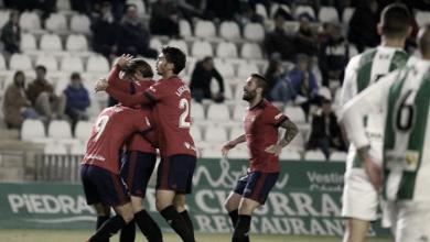 Córdoba CF - CA Osasuna: Puntuaciones del Córdoba CF, jornada 14 de Segunda División