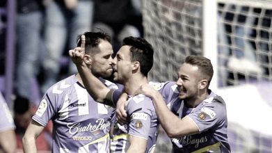 Real Valladolid - UD Almería: puntuaciones del Real Valladolid, jornada 31 de la Liga 1 2 3