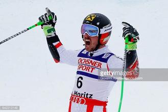 Marcel Hirscher lands Giant Slalom gold after plane incident in St. Moritz
