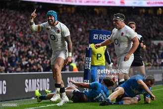 Six Nations 2017: England overcome Italy challenge to regain top spot after wins for Scotland and Ireland