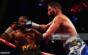 Tony Bellew broke his hand early in fight with David Haye