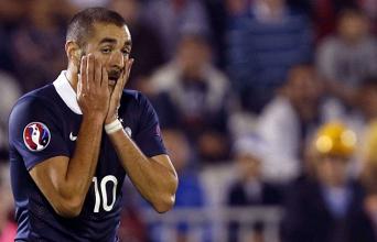 Benzema ne jouera pas l'Euro !