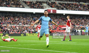 Middlesbrough 0-2 Manchester City: Silva and Agüero secure City's place in the FA Cup semi-finals