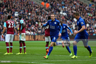 West Ham United 2-3 Leicester City: Foxes continue resurgence against struggling Hammers