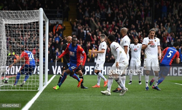 Crystal Palace 1-0 Watford: Deeney own goal separates sides