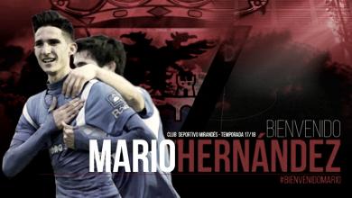 Mario Hernández y Diego Peláez firman con el Mirandés