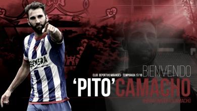 Pito Camacho nuevo jugador del Mirandés